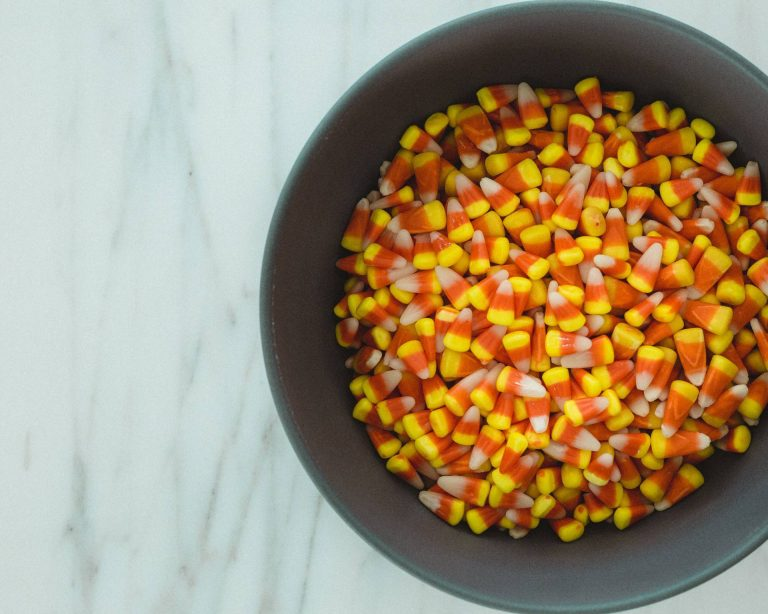 candy corn halloween candy