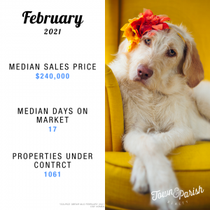 Baton Rouge Real Estate February 2021