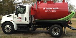 St Amant Septic pump truck